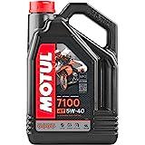 Motul 7100 4T 5W40 100% Synthetic Engine Oil 4 Liters (104087)