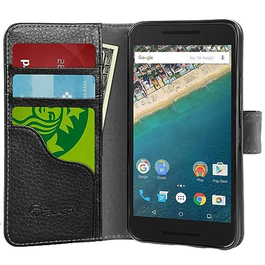1 opinioni per Nexus 5X Custodia, i-Blason Cover- portadocumenti integrato, cavalletto. Cus...