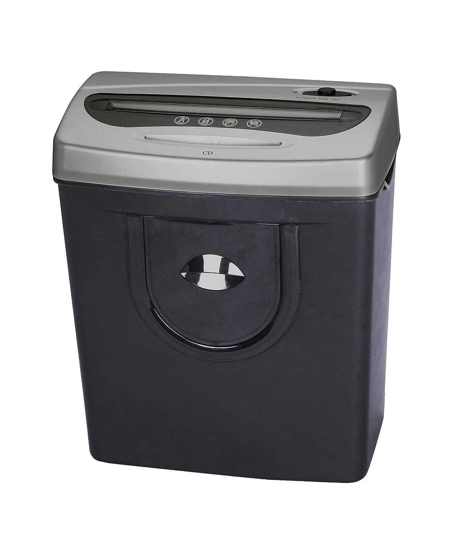 Pavo Premium Aktenvernichter bis zu 12 Blatt, Streifenschnitt, inklusive Papierkorb 14L, schwarz Pavo Sales B.V 8007684