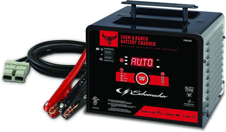 Schumacher FR01335 2//6//40//150//200A 6//12V Battery Charger
