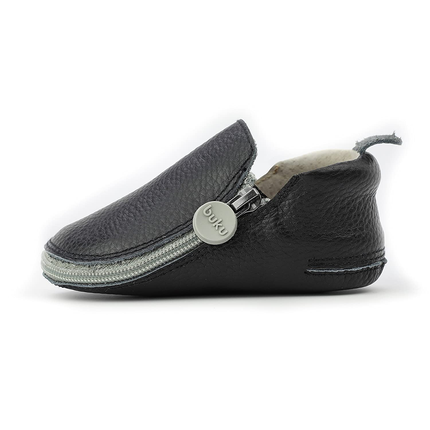 d8764a5a313a2 Buku Babies Genuine Leather Baby Shoes by Girls & Boys Walkers Crib Shoes  Moccasins Booties