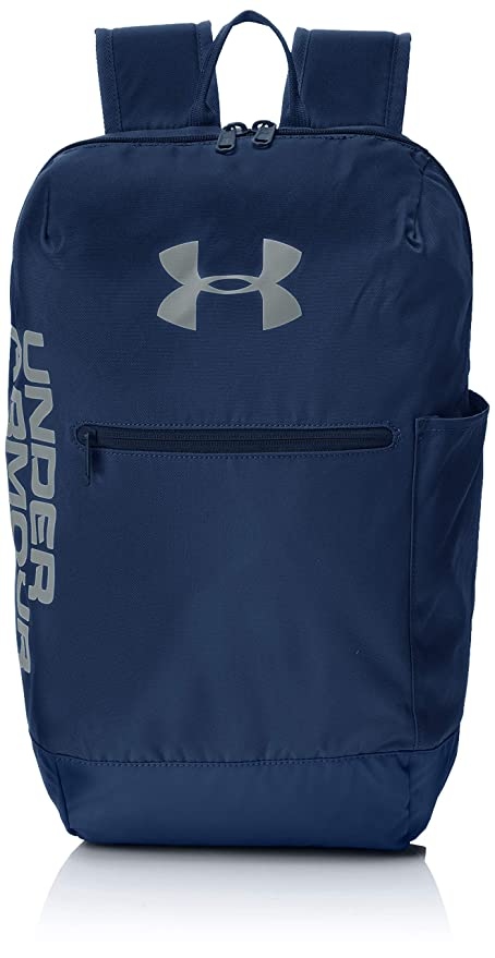 Under Armour UA Patterson Backpack Mochila, Unisex Adulto, Azul Academy/Steel 408,