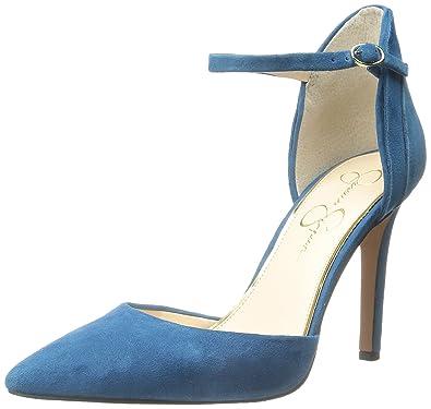 Jessica Simpson Women's Carlette Dress Pump, Naples Teal, ...