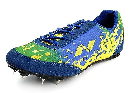nivia spirit running spikes shoes