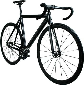 Throne Phantom (Limited) Series - Bicicleta de Pista Completa (53, Color Negro Mate): Amazon.es: Deportes y aire libre