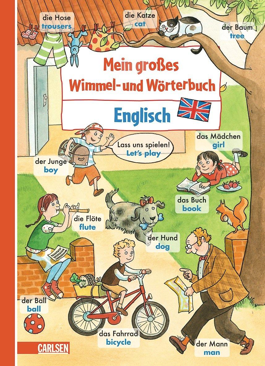 Mein großes Wimmel- und Wörterbuch: Englisch