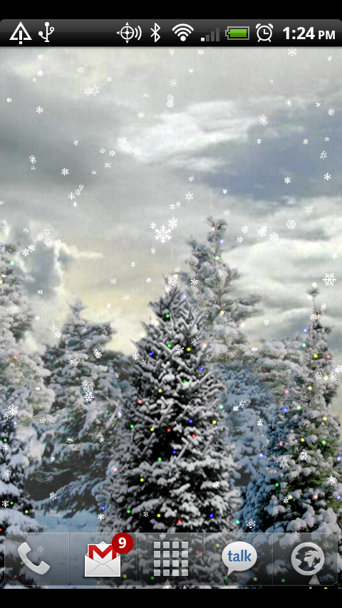 Amazon Com Snowfall Live Wallpaper Appstore For Android