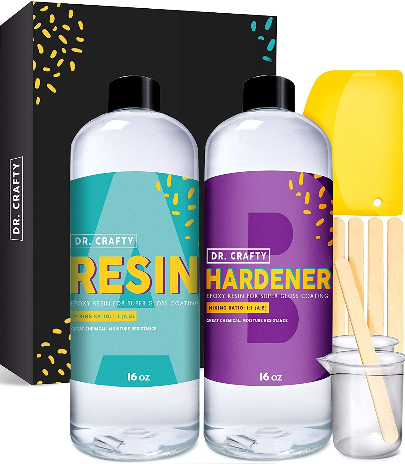 Dr. Crafty Full Clear Epoxy Resin Kit