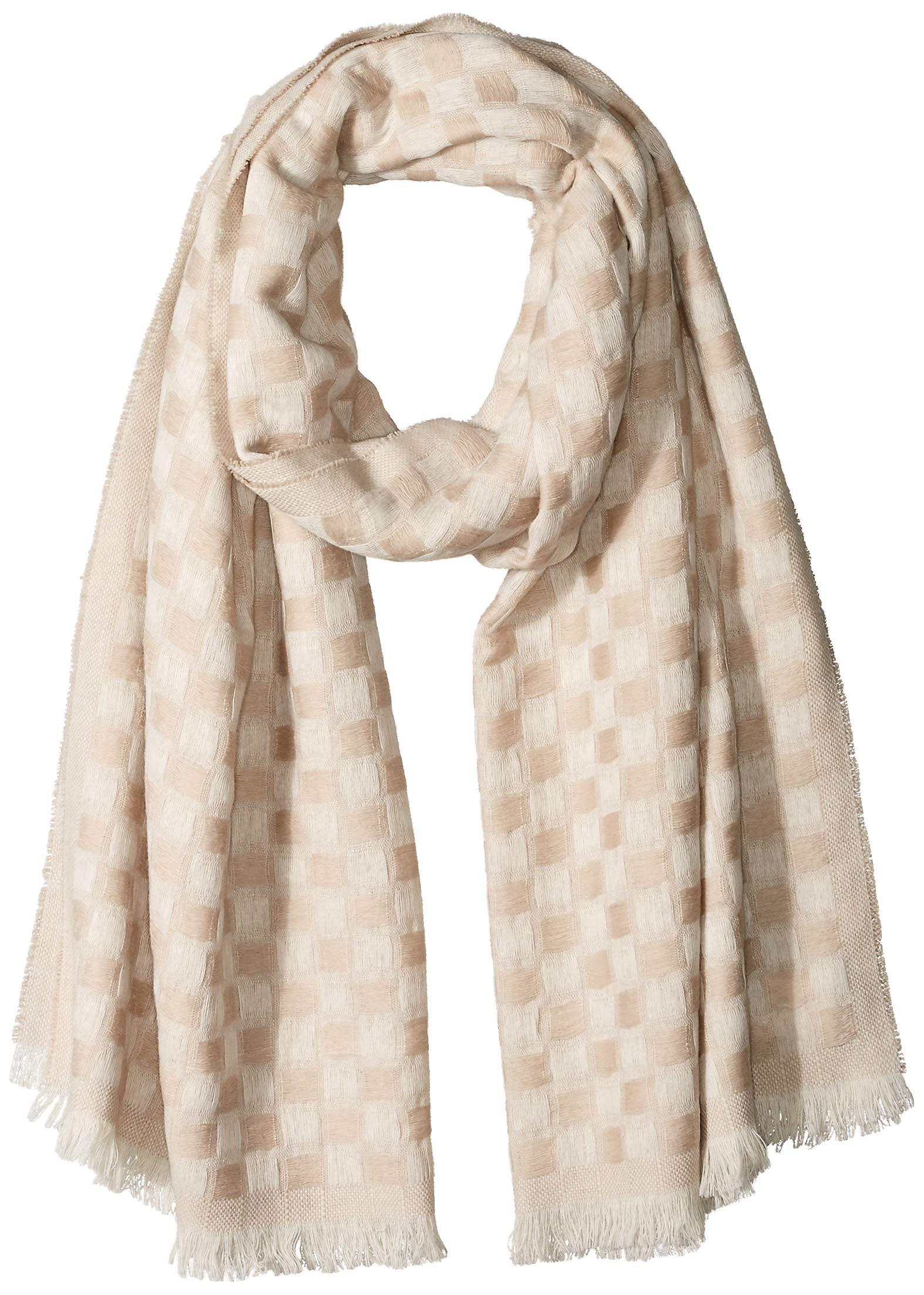 Pendleton Women's Textured Scarf, tan Mix, One Size