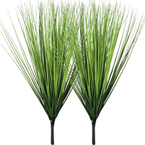 Artificial Plants Fake Wheat Grass Plant Faux Stems Greenery Ferns for Outdoor Indoor Floral Wedding Decor 23.6