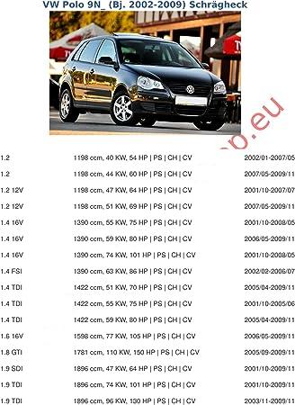 Enganche de remolque con 13 pines para Volkswagen Polo IV 9 N ...