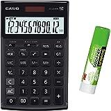 カシオ 本格実務電卓 JS-TK20B 特典付きセット 検算・税計算 ジャストタイプ 12桁