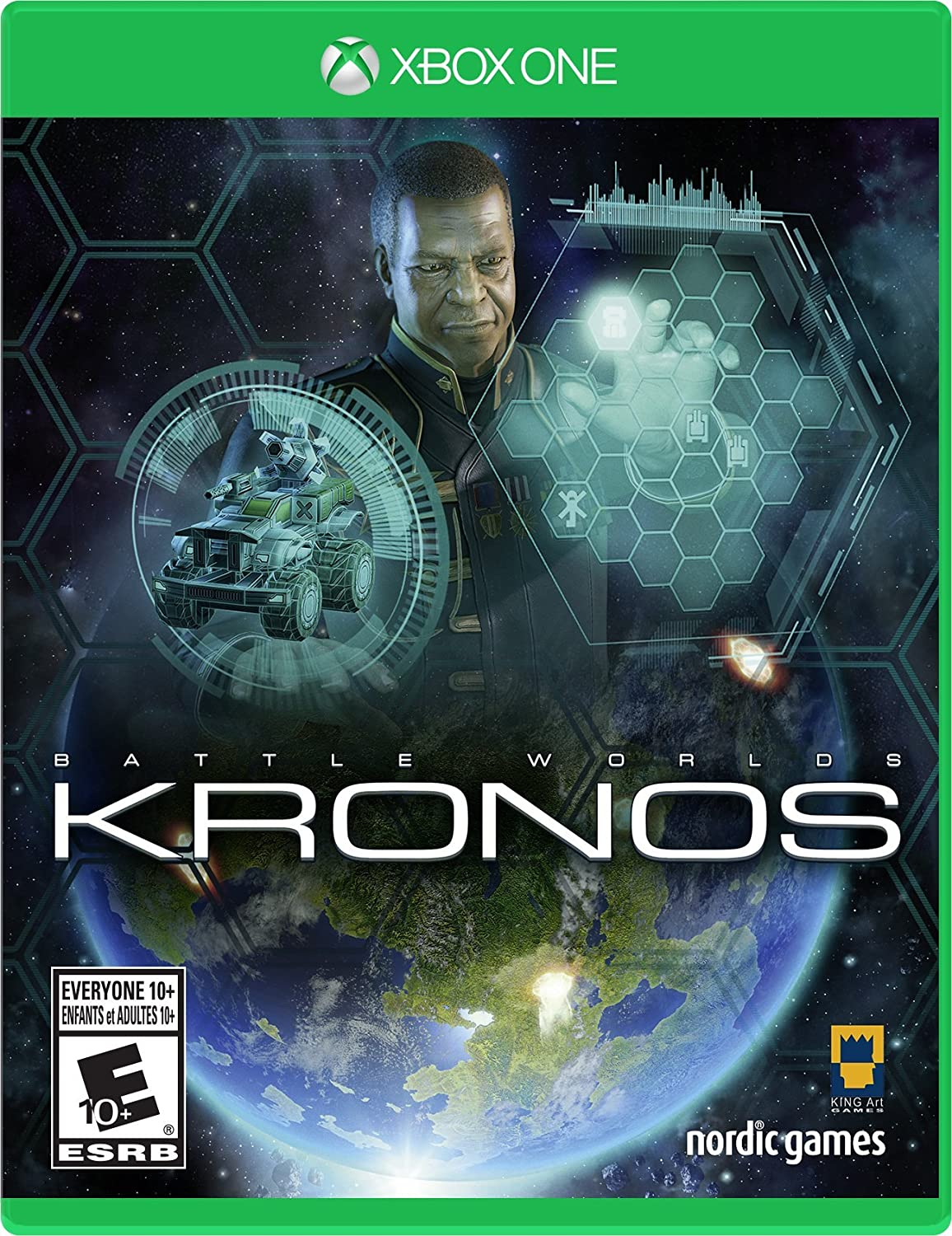 Amazon: Battle Worlds: Kronos  Playstation 4: Nordic Games Na Inc:  Video Games