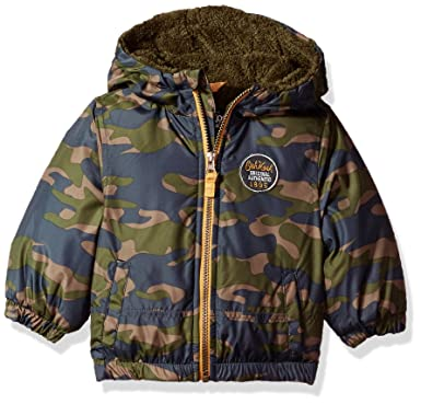 4f923e8d8913 Osh Kosh Baby Boys  Jacket Coat  Amazon.in  Clothing   Accessories