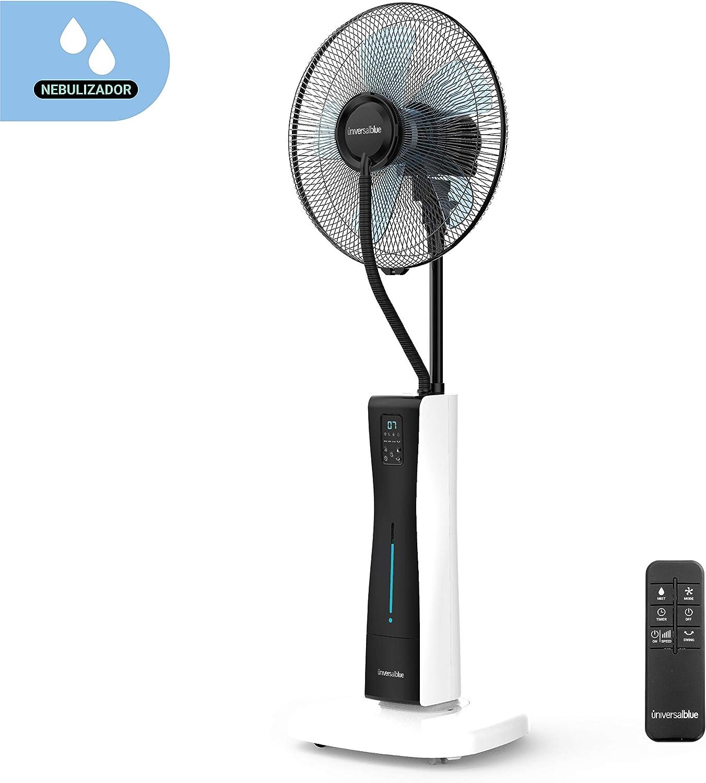 UNIVERSALBLUE | Ventilador Humidificador Nebulizador | Potencia ...