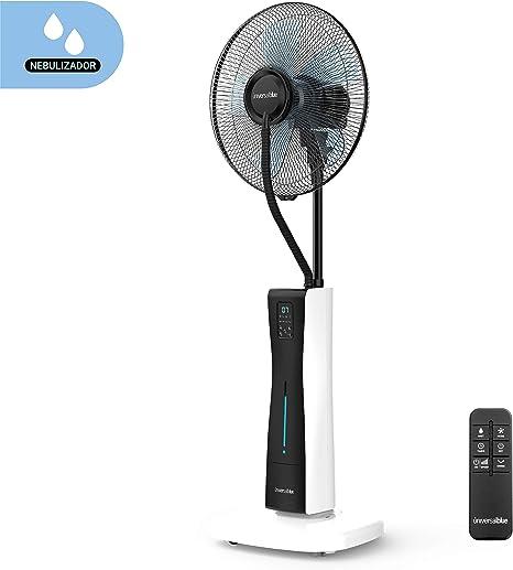 UNIVERSALBLUE | Ventilador humidificador con Ruedas | Mando a ...