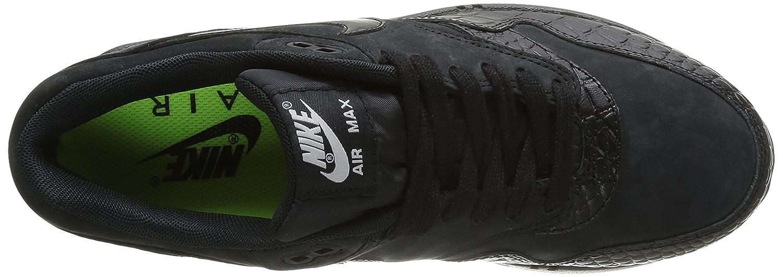 Nike Air Max 1 Schwarz Orange RnB5UK