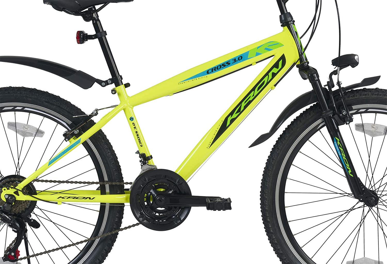 Mountainbike Fully 24 Zoll Jugendrad Fahrrad Kron Ares 3.0 MTB 21 Gänge Rad ATB