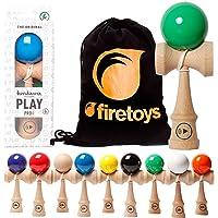 Kendamaeurope Play Pro II K compétition Standard Kendama et Firetoys® Sac à cordon. Plusieurs couleurs disponibles.