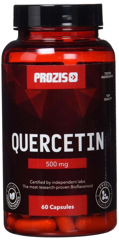 Prozis Quercetin, Complemento de Bioflavonoides con Potentes Propiedades Antioxidantes para la Salud - 500mg, 60 Capsules: Amazon.es: Salud y cuidado ...