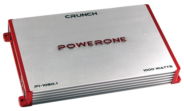 Amazon.com: Crunch P1-1050.1 PowerOne 1-Channel Class-A/B Car Amplifier,  1000-Watt: Car Electronics