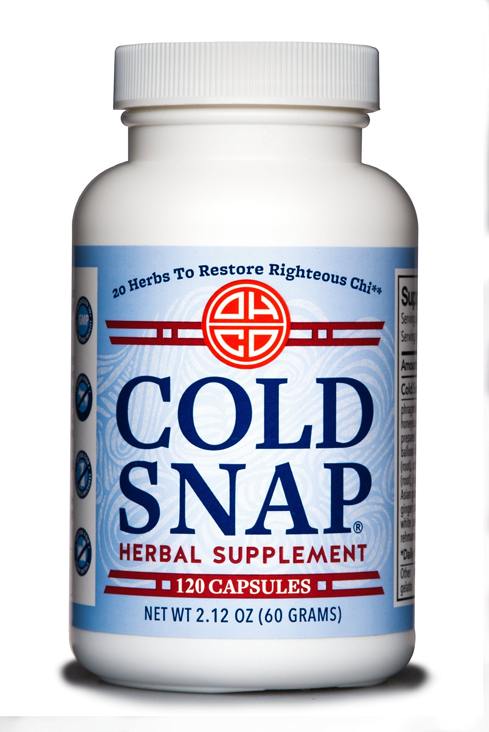 OHCO Cold Snap 120 Capsules - Ease Cold and Flu Symptons - Herbal Medicine - High-Quality Chinese Medicine Remedies