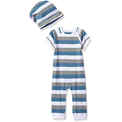 Burt's Bees Baby Baby Organic Coverall with Hat
