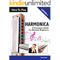 How To Play Harmonica: A Complete Guide for Absolute Beginners book cover