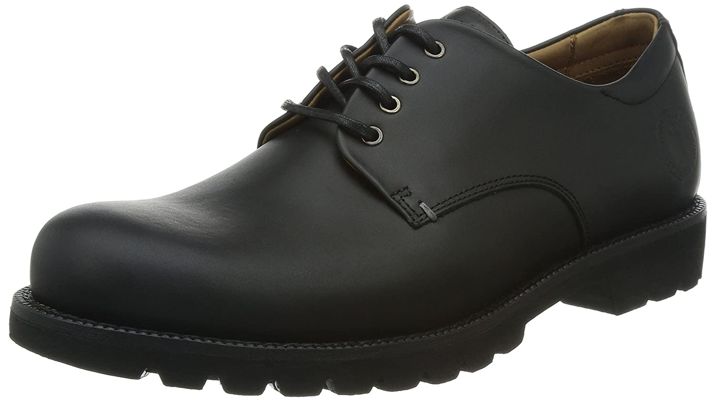 Panama Jack JACKSON C3 - Zapatos de napa hombre 46 EU Negro - Negro