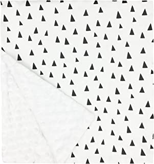 """product image for Original Baby Elephant Ears Boys & Girls Baby Blanket-Soft Minky, for Newborn Infants & Toddlers, Plush Blanket - (Tiny Triangles, Large 27"""" x 29"""")"""