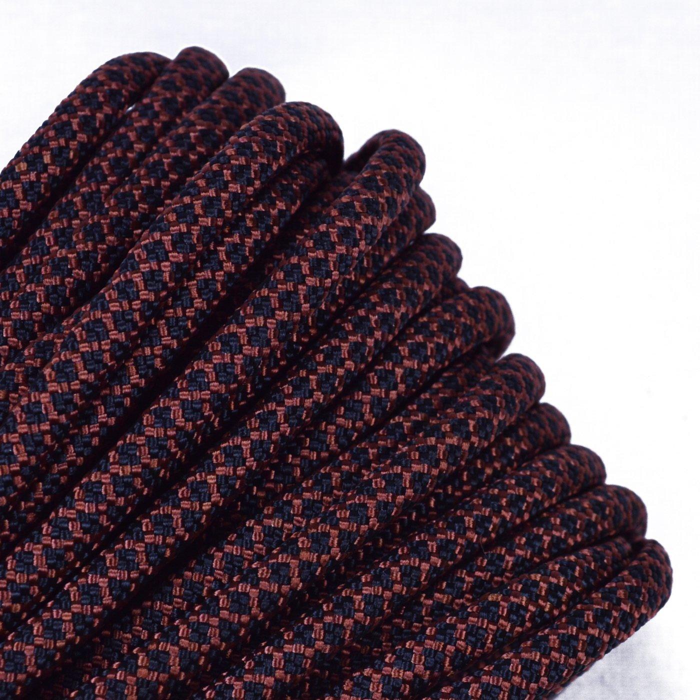 Boredパラコード – Over 300色1 '、10 '、25、50、100 ' Hanks & 250 '、1000 'スプールのパラシュート550コードタイプIII 7ストランドParacord B076FKWJSL ブラック|10.0 フィート ブラック