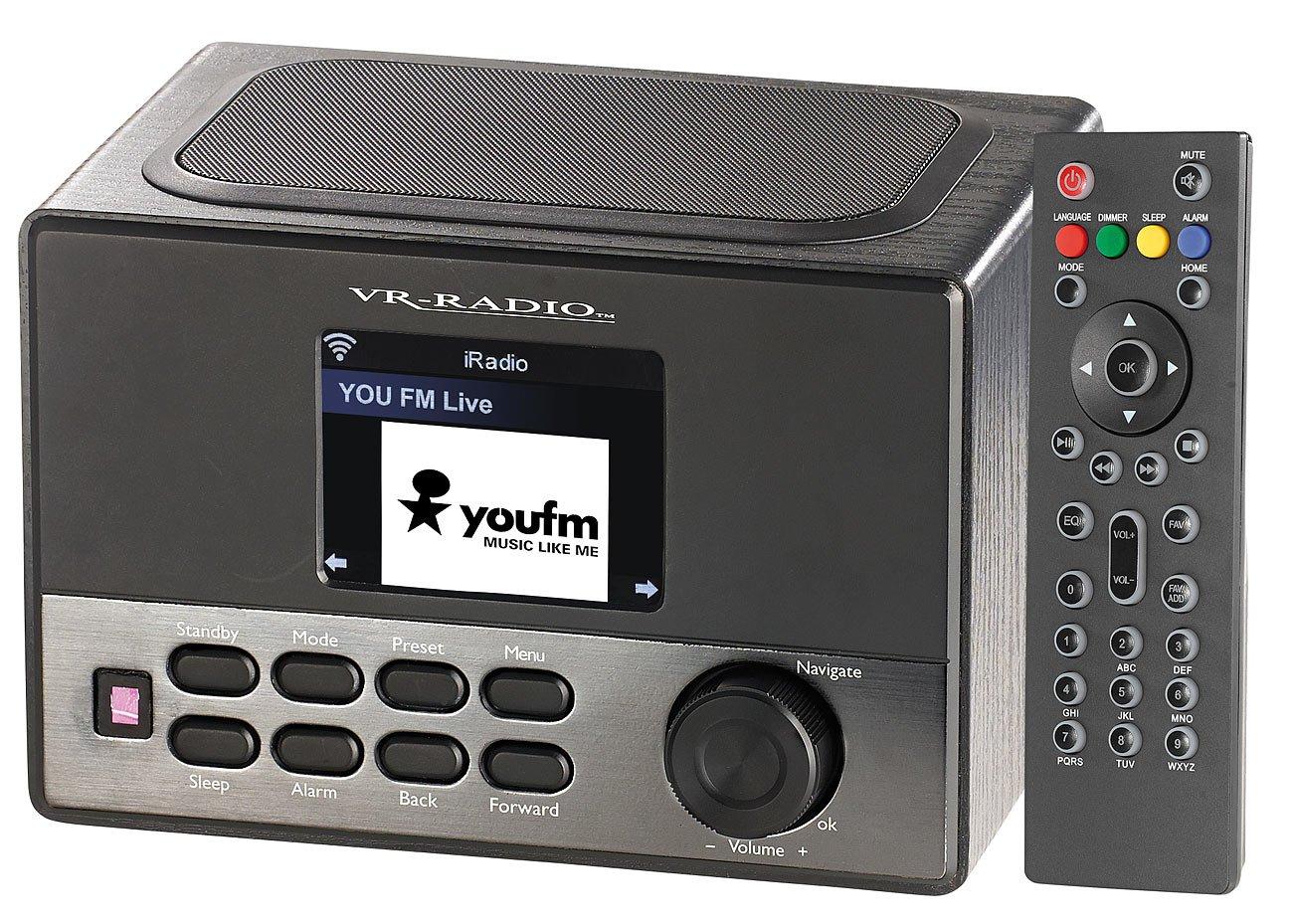 Radio R Veil Internet Wi Fi Irs 600 Et Station De Chargement Usb