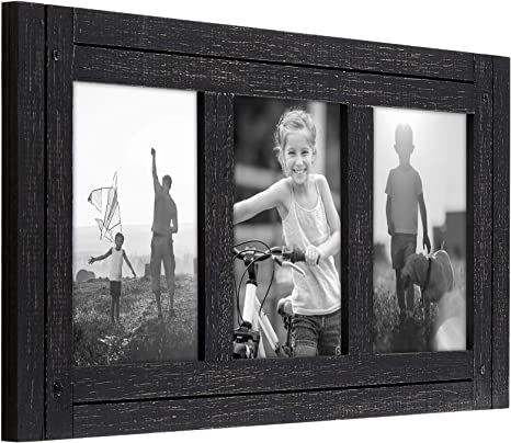 show original title Details about  /Picture Frame Collageimages barFrame made from wood