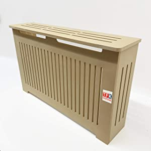 MDF Radiator Cover Heating Cabinet with Ventilation on Both Sides, 26 Tall x 32 Wide - Custom Made - MD7