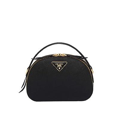 4b15073381ef JB-Prada Odette Saffiano leather bag (black): Handbags: Amazon.com