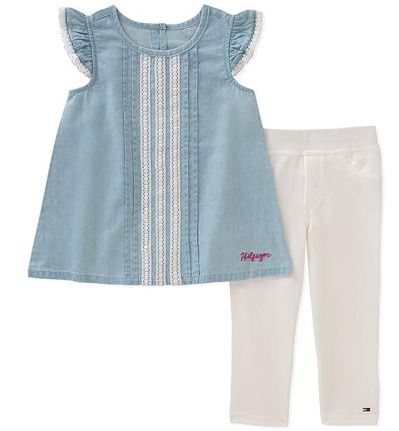 824f9c960053 Tommy Hilfiger Baby Girls Tunic Set