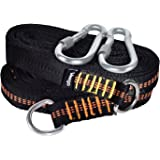 Veego Swing Straps, Set of 2 Tree Swing Hanging Kit 2000 LBS Heavy Duty 8.3 Feet Long with 6 Adjustable Loops each and 2 Carabiners Perfect for Any Swings