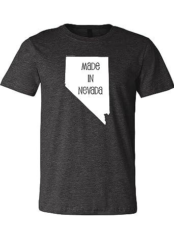 grand choix de 38ddb 7dbc5 Amazon.com: Made in Nevada Men's Premium Crewneck 3001 T ...