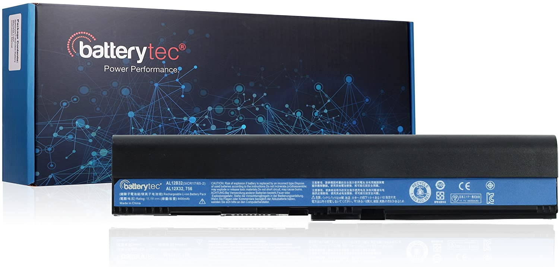 Batterytec Laptop Battery for ACER Aspire One 725 756 V5-171, ACER TravelMate B113 B113M B113-M, ACER C7 C710 Chromebook, AL12X32 AL12A31 AL12B31 AL12B32.