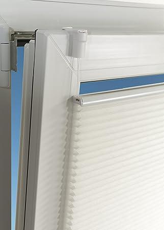 creme Vidella Plissee comfortino blickdicht Fenstermontage 83 cm PP-1 83