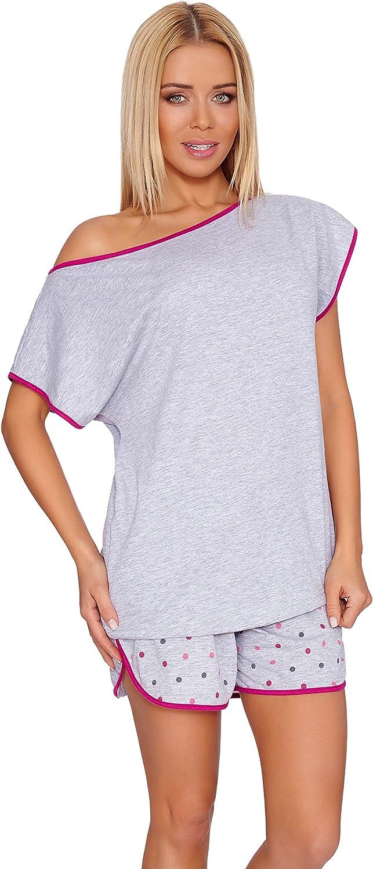 Merry Style Pijama Conjunto Camiseta y Pantalones Mujer R4S2