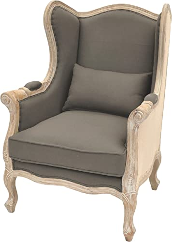 New Pacific Direct Guinevere Wing Arm Accent Chair