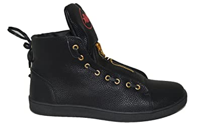 a2cc8713ad6 Mecca ME-8065 Austin Men s Eyelet Zip Front High Top