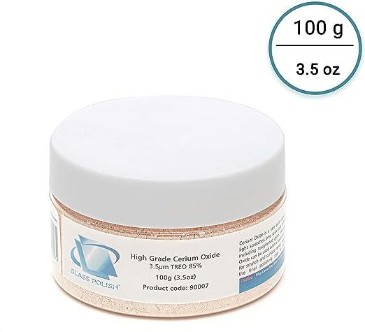 Glass Polish - Óxido de cerio GP200 (100 gramos): Amazon.es ...