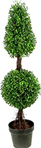 Admired by Nature Aritificial Boxwood Single Pack Green