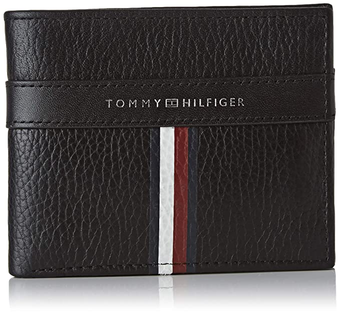 Tommy Hilfiger - Corporate Leather Mini Cc Wallet, Carteras ...