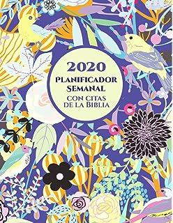 2020 Planificador Semanal Con Citas De La Biblia | Una ...