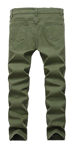 e0f02169b446 Fredd Marshall Boy's Skinny Fit Stretch Fashionable Jeans Pants Slim Comfy  Denim Blue for Kids: Amazon.co.uk: Clothing
