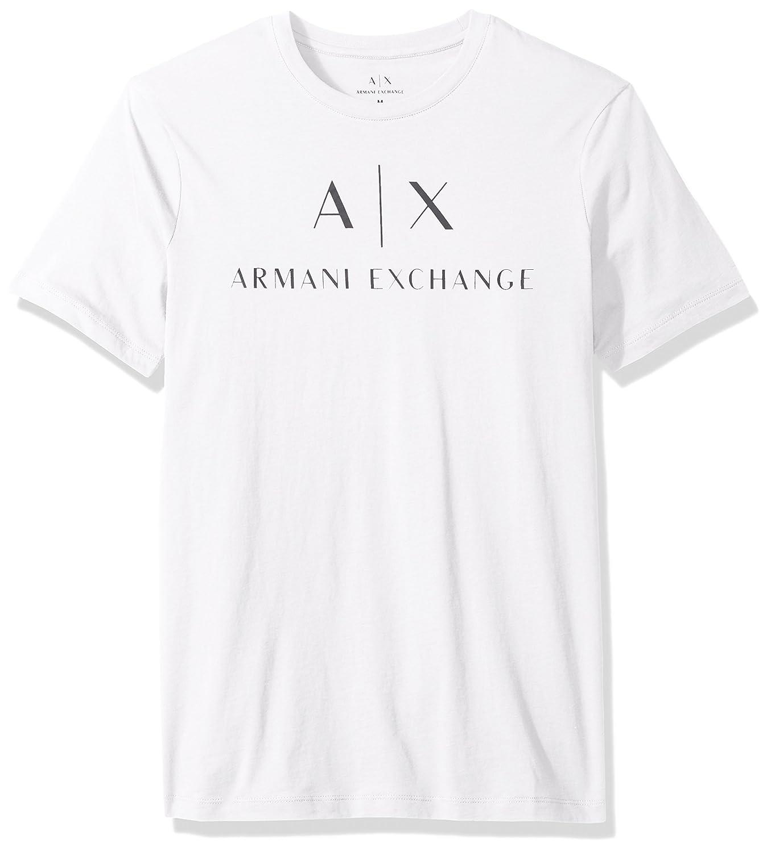 (AX アルマーニ エクスチェンジ) AX ARMANI EXCHANGE T-SHIRT Tシャツ B01MT5KGGP  ホワイト 日本 M-(日本サイズM相当)