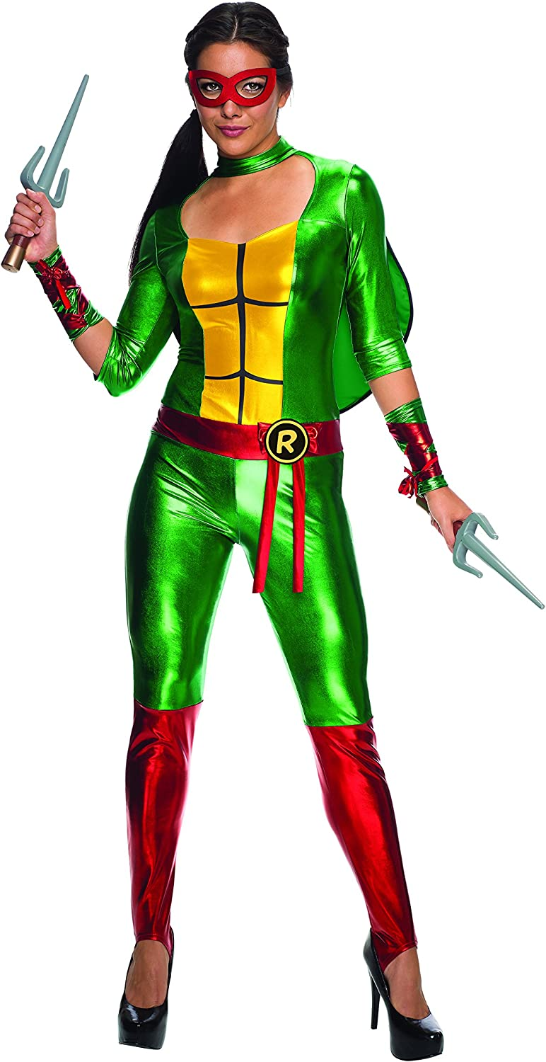 Women's Teenage Mutant Ninja Turtles Raphael Costume Jumpsuit